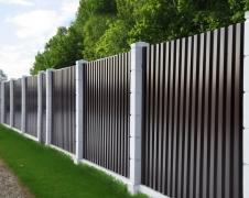 Забор из профнастила №01
